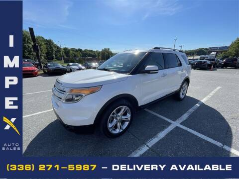 2015 Ford Explorer for sale at Impex Auto Sales in Greensboro NC