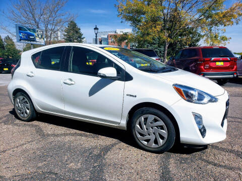 2015 Toyota Prius c for sale at J & M PRECISION AUTOMOTIVE, INC in Fort Collins CO