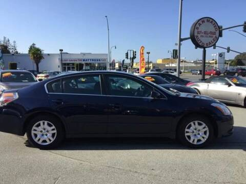 2012 Nissan Altima for sale at San Mateo Auto Sales in San Mateo CA