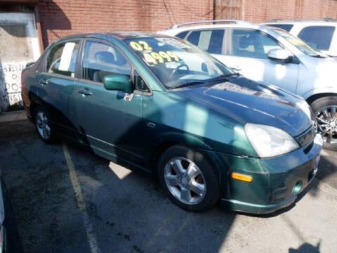 2002 Suzuki Aerio for sale at MICHAEL ANTHONY AUTO SALES in Plainfield NJ