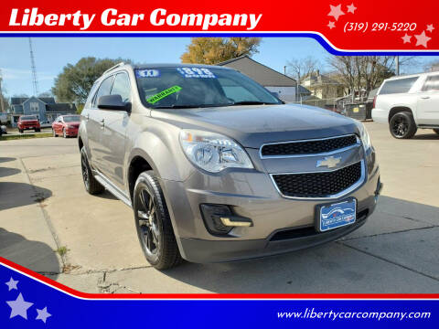 2011 Chevrolet Equinox for sale at Liberty Car Company in Waterloo IA