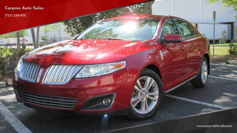 2009 Lincoln MKS for sale at Carpros Auto Sales in Largo FL