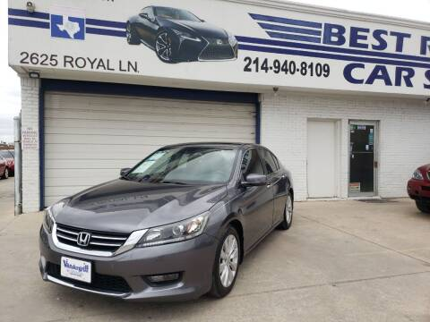 2015 Honda Accord for sale at Best Royal Car Sales in Dallas TX