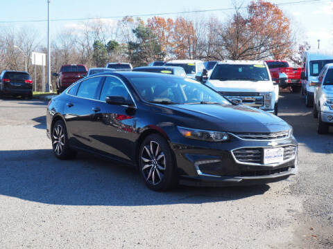 2017 Chevrolet Malibu for sale at MAPLECREST FORD LINCOLN USED CARS in Vauxhall NJ