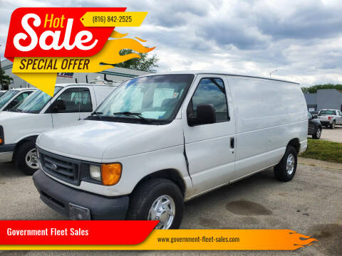 2003 Ford E-Series Cargo for sale at Government Fleet Sales - Buy Here Pay Here in Kansas City MO