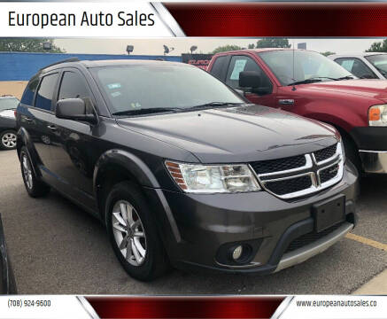 2015 Dodge Journey for sale at European Auto Sales in Bridgeview IL