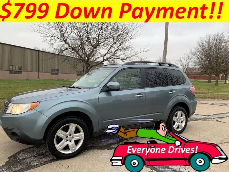 2010 Subaru Forester for sale at World Automotive in Euclid OH