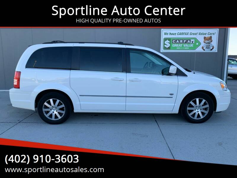 2009 Chrysler Town and Country for sale at Sportline Auto Center in Columbus NE