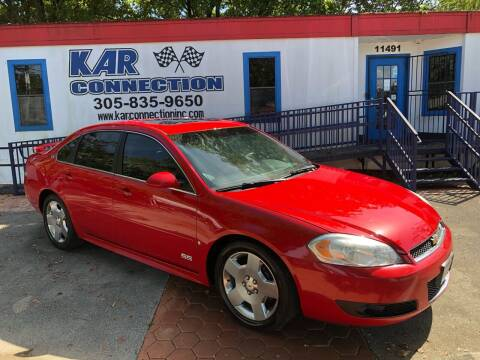 2009 Chevrolet Impala for sale at Kar Connection in Miami FL
