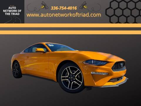 2019 Ford Mustang for sale at Auto Network of the Triad in Walkertown NC