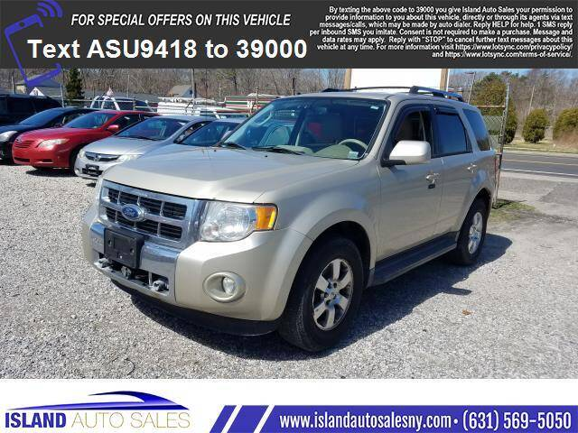 2011 Ford Escape for sale at Island Auto Sales in E.Patchogue NY