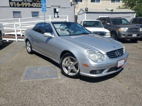 2005 Mercedes-Benz CLK for sale at AMW Auto Sales in Sacramento CA