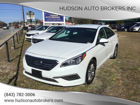 2017 Hyundai Sonata for sale at HUDSON AUTO BROKERS INC in Walterboro SC
