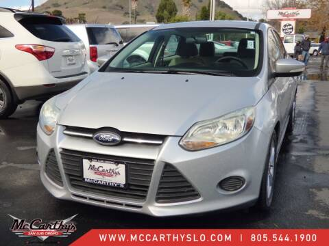 2014 Ford Focus for sale at McCarthy Wholesale in San Luis Obispo CA