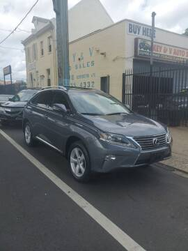 2014 Lexus RX 350 for sale at Key and V Auto Sales in Philadelphia PA