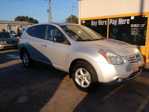 2010 Nissan Rogue for sale at QUALITY AUTO SALES OF FLORIDA in New Port Richey FL