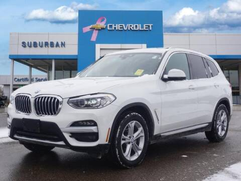 2020 BMW X3 for sale at Suburban Chevrolet of Ann Arbor in Ann Arbor MI
