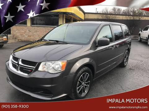 2017 Dodge Grand Caravan for sale at IMPALA MOTORS in Memphis TN