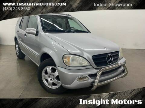 2003 Mercedes-Benz M-Class for sale at Insight Motors in Tempe AZ