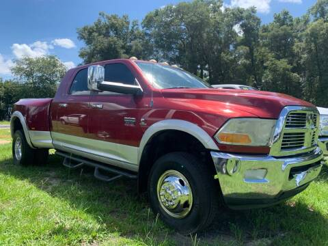 2012 RAM Ram Pickup 3500 for sale at Gator Truck Center of Ocala in Ocala FL