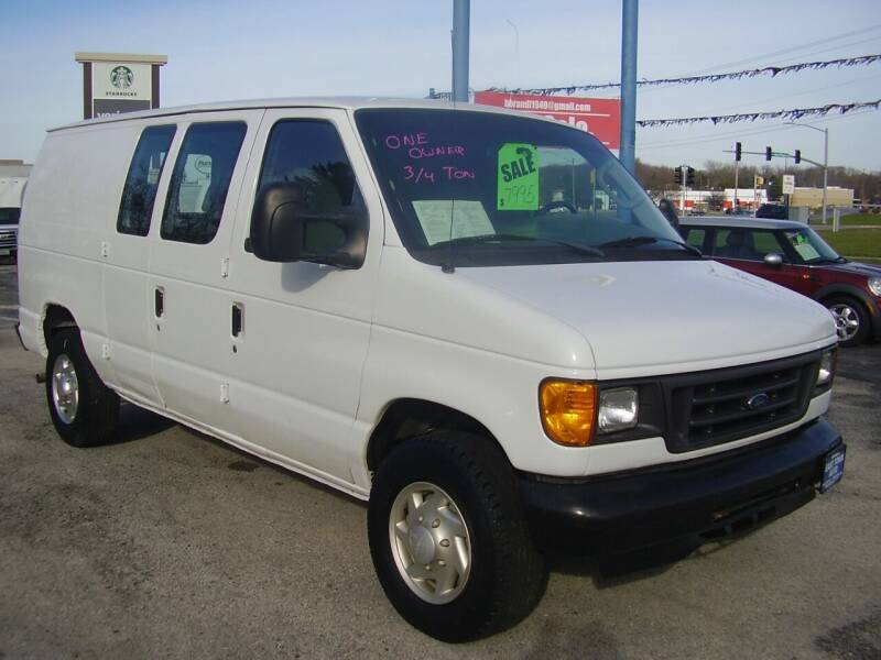 2007 Ford E-Series Cargo for sale at East Town Auto in Green Bay WI