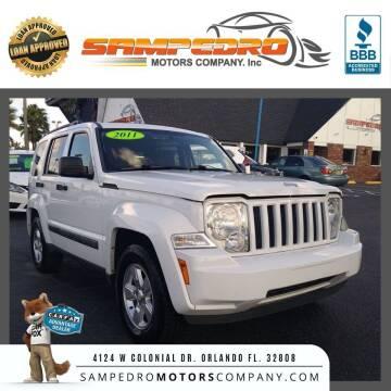 2011 Jeep Liberty for sale at SAMPEDRO MOTORS COMPANY INC in Orlando FL