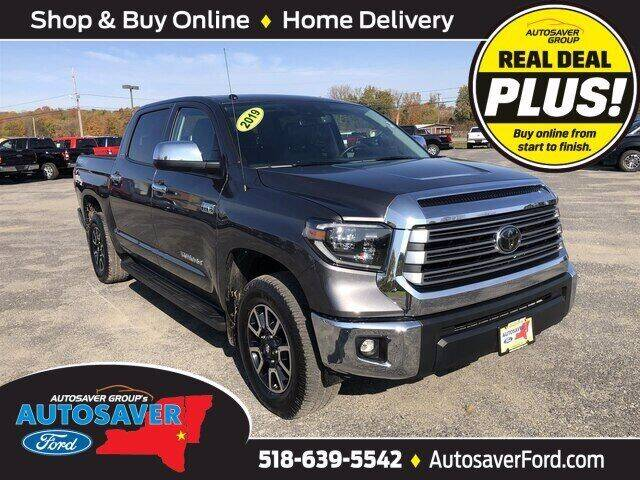 2019 Toyota Tundra for sale at Autosaver Ford in Comstock NY