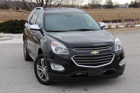 2017 Chevrolet Equinox for sale at Big O Auto LLC in Omaha NE