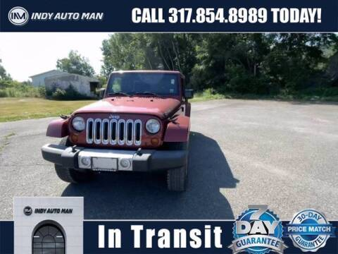 2013 Jeep Wrangler Unlimited for sale at INDY AUTO MAN in Indianapolis IN