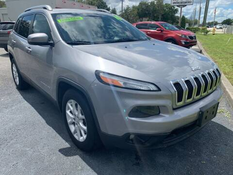 2016 Jeep Cherokee for sale at The Car Connection Inc. in Palm Bay FL