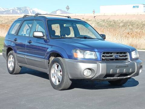 2004 Subaru Forester for sale at AUTOMOTIVE SOLUTIONS in Salt Lake City UT