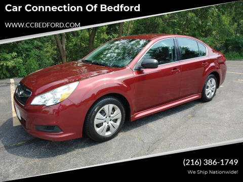 2012 Subaru Legacy for sale at Car Connection of Bedford in Bedford OH
