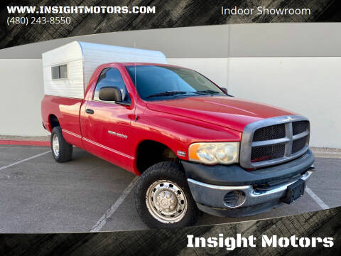 2005 Dodge Ram Pickup 2500 for sale at Insight Motors in Tempe AZ