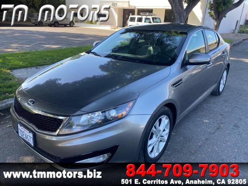 2013 Kia Optima for sale at TM Motors in Anaheim CA