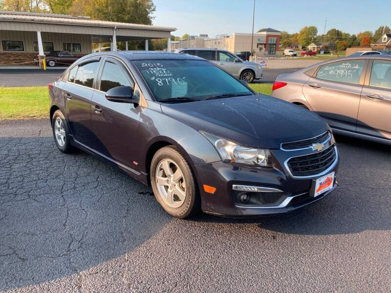 2015 Chevrolet Cruze for sale at McCully's Automotive - Under $10,000 in Benton KY