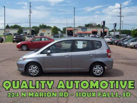 2008 Honda Fit for sale at Quality Automotive in Sioux Falls SD