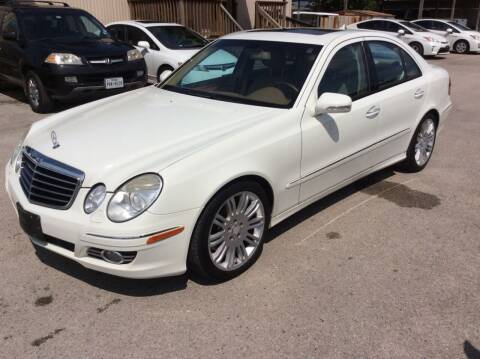 2008 Mercedes-Benz E-Class for sale at OASIS PARK & SELL in Spring TX