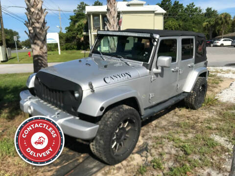 2007 Jeep Wrangler Unlimited for sale at Gulf Financial Solutions Inc DBA GFS Autos in Panama City Beach FL
