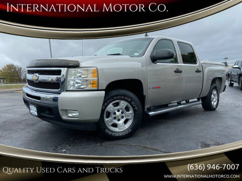 2007 Chevrolet Silverado 1500 for sale at International Motor Co. in St. Charles MO