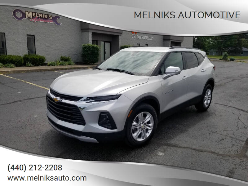 2020 Chevrolet Blazer for sale at Melniks Automotive in Berea OH