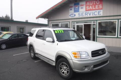 2003 Toyota Sequoia for sale at 777 Auto Sales and Service in Tacoma WA