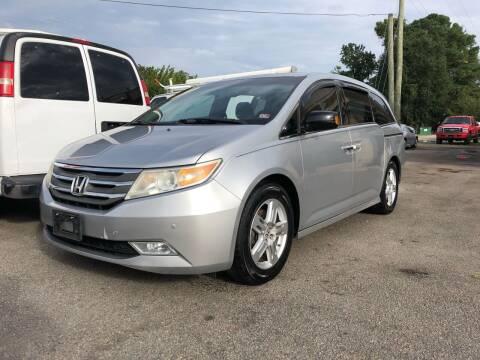 2011 Honda Odyssey for sale at Mega Autosports in Chesapeake VA