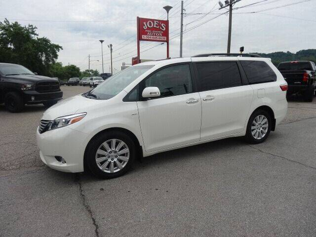 2017 Toyota Sienna for sale at Joe's Preowned Autos in Moundsville WV