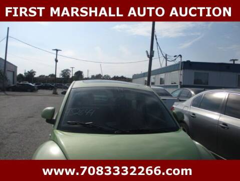 1999 Volkswagen New Beetle for sale at First Marshall Auto Auction in Harvey IL