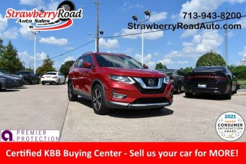 2017 Nissan Rogue for sale at Strawberry Road Auto Sales in Pasadena TX