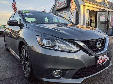 2016 Nissan Sentra for sale at Cape Cod Carz in Hyannis MA