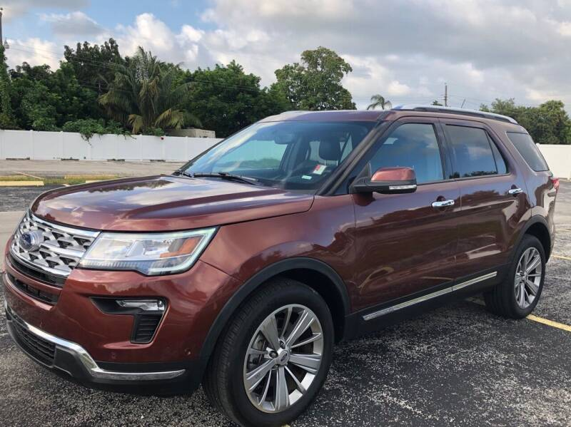 2018 Ford Explorer for sale at Guru Auto Sales in Miramar FL