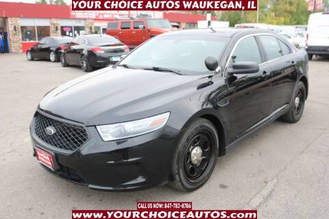 2014 Ford Taurus for sale at Your Choice Autos - Waukegan in Waukegan IL