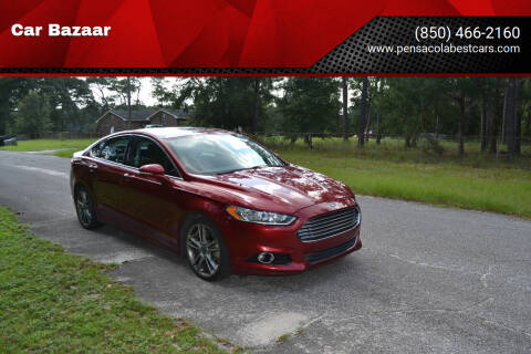 2013 Ford Fusion for sale at Car Bazaar in Pensacola FL