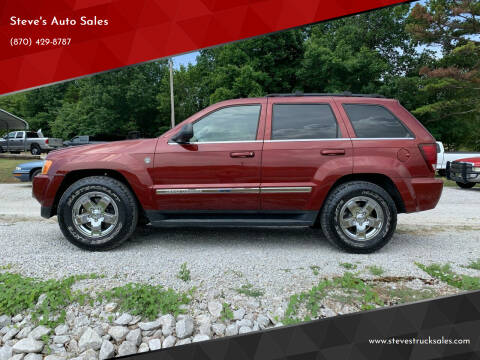 2007 Jeep Grand Cherokee for sale at Steve's Auto Sales in Harrison AR